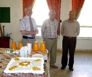Farewell to Mr. Saddi & Mr. Mcheileh
